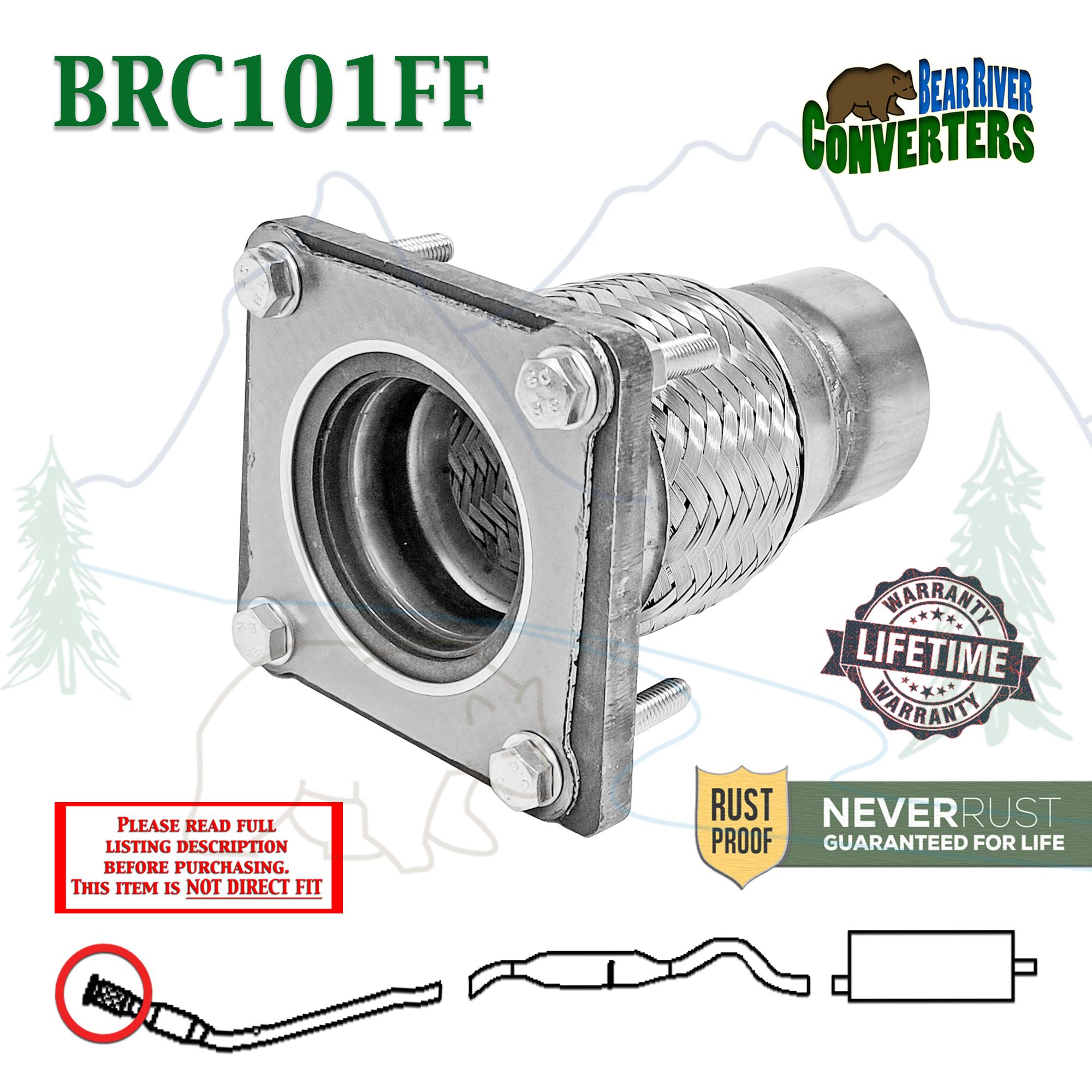 Details about BRC101FF Exhaust Flange Flex Repair Pipe Chrysler Sebring  Voyager Dodge Caravan