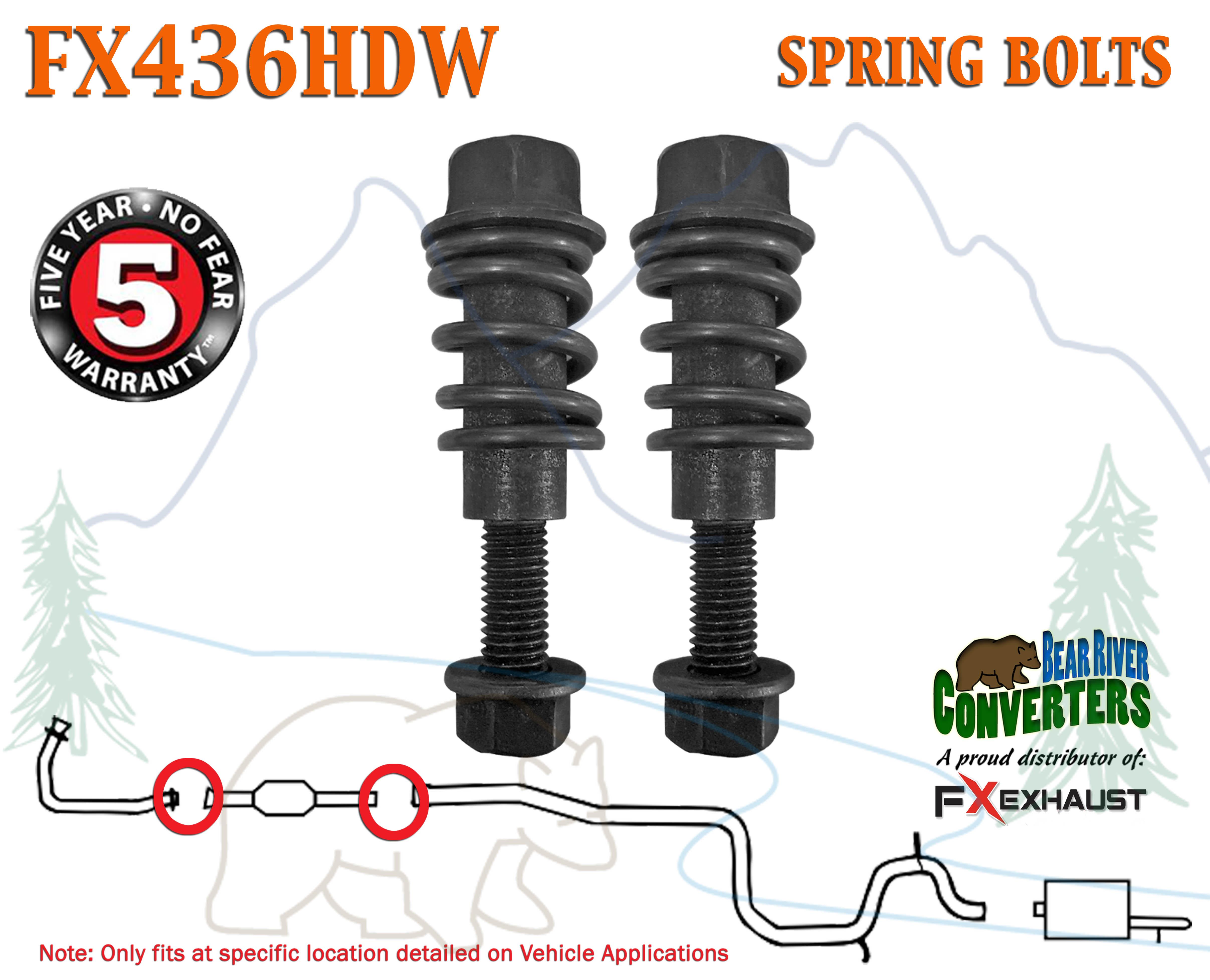 Walker 36129 Spring And Bolt Kit